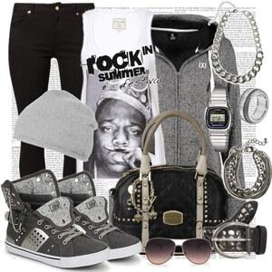 Outfit rock style von Justine