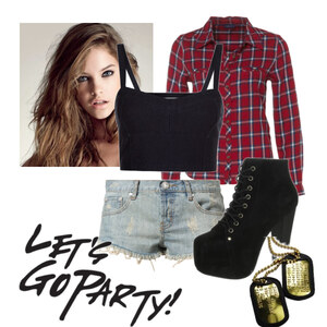 Outfit Let´s go party! von Sandra Ossege
