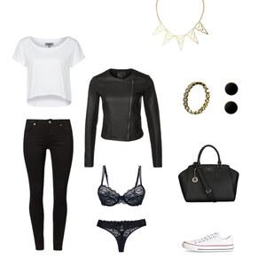 Outfit Black & White von Anjasylvia ♥