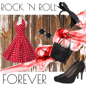 Outfit Rock 'n Roll 4-ever ♡♡ von Katinka