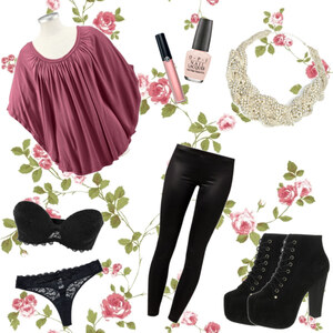Outfit Pink Flavour von Katinka