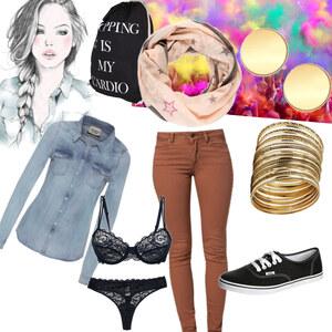 Outfit :) cool von franziskaalschweig