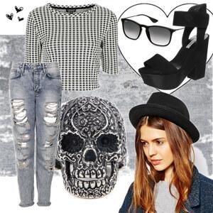 Outfit Rebell von Elena Tsch