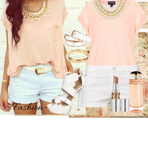 Outfit pink Lady von fashion-
