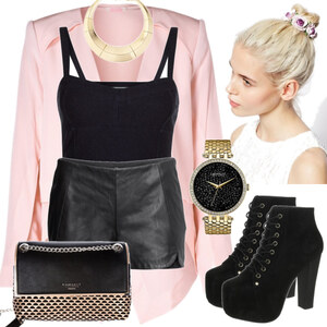 Outfit Kontrast von Elena Tsch