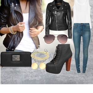 Outfit rock girl von fashion-