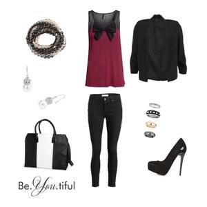 Outfit Luxus von
