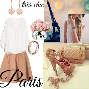 Outfit Je veux aller  á  Paris von Claudia Giese