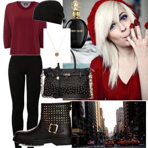 Outfit gemütlich shoppen von Claudia Giese