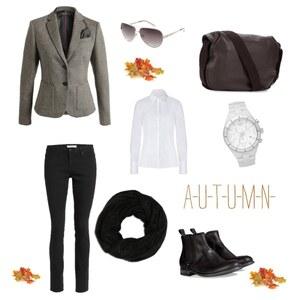 Outfit volný čas na podzim von