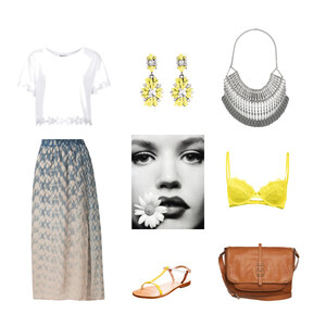 Outfit Yellow Accessoires von Anjasylvia ♥