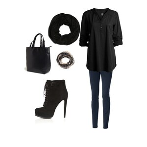 Outfit Black fashion von