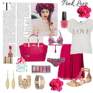 Outfit Pink Love von Verena Schnall