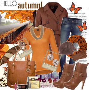 Outfit hello autumn von Justine