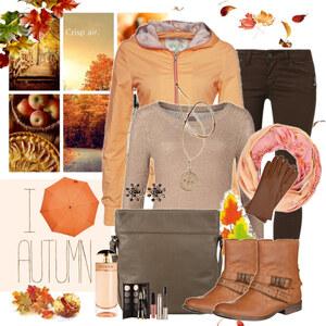 Outfit i love autumn von Justine