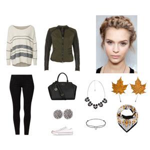 Outfit Seidentuch von Anjasylvia ♥