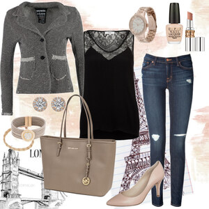 Outfit chic for the city von Natalie