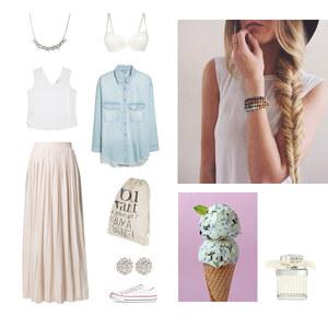 Outfit Pastellfarbener Look von Anjasylvia ♥