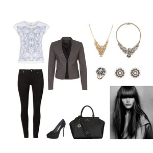 Outfit Officechic von Anjasylvia ♥