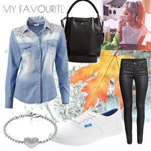 Outfit Jeanshemd von Frabau2509