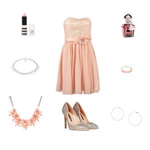 Outfit glamour girl von Blume