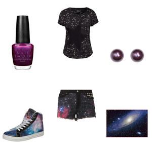 Outfit galaxy von Blume