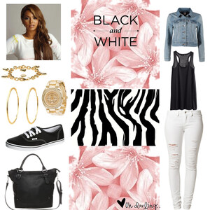 Outfit BLACK AND WHITE!!! von Li Ma