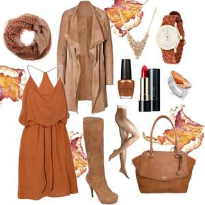 Outfit Herbst-Trend aus Mailand: Camel von Annik