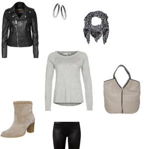 Outfit Herbst-Shoppingtag von Alessandra Ferrara