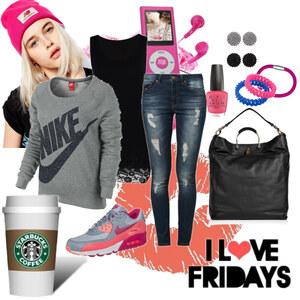 Outfit I love Fridays von Natalie