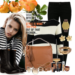 Outfit style is cool von Justine