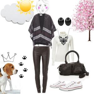 Outfit Klassisch SCHWARZ  von Almedina SI