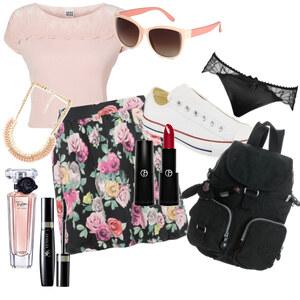 Outfit Schönes Mädchenhaftes blumiges,aber schlichtes Sommeroutfit :-) von YAS MINA