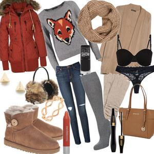 Outfit Alltagsoutfit im Winter <3 von YAS MINA