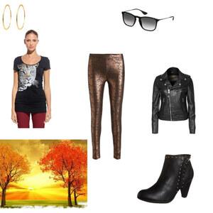 Outfit POSH-LEO von Alessandra Ferrara