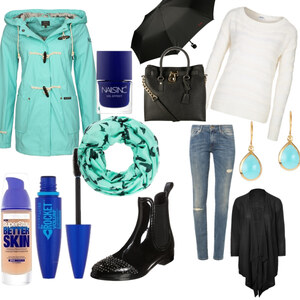 Outfit Rainy Days von YAS MINA