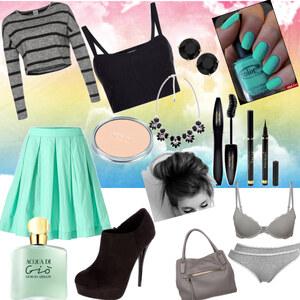 Outfit Schick in mint :) von YAS MINA