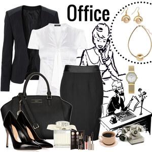 Outfit Office von Justine
