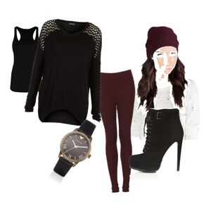 Outfit RedBlack von