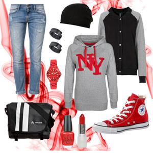 Outfit Urban Casual von Annik