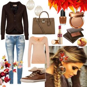Outfit gemütlich in den Herbst von Claudia Giese