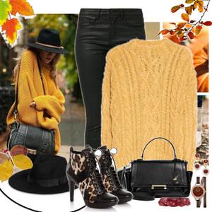 Outfit yellow von Ania Sz
