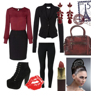 Outfit kisses from paris von Claudia Giese
