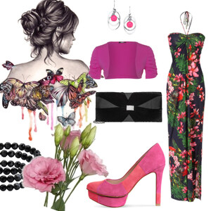 Outfit welcome to the djungle von Claudia Giese
