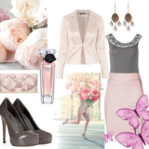 Outfit Ein Hauch rosé von Claudia Giese