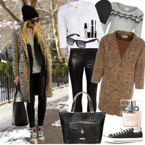 Outfit Leopard chill-walk von marcela
