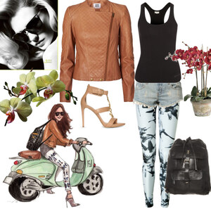 Outfit on my way... von Claudia Giese
