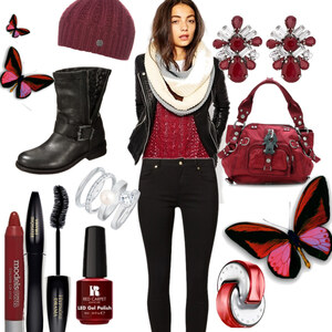 Outfit Übergang Herbst/Winter von Claudia Giese
