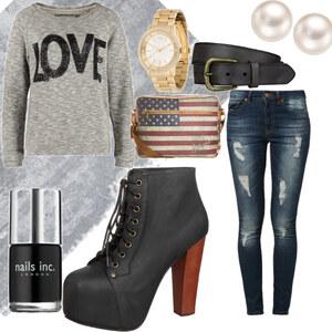 Outfit Love it  von Jeanine