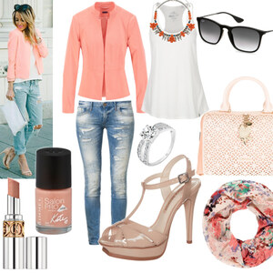 Outfit coralle von Claudia Giese